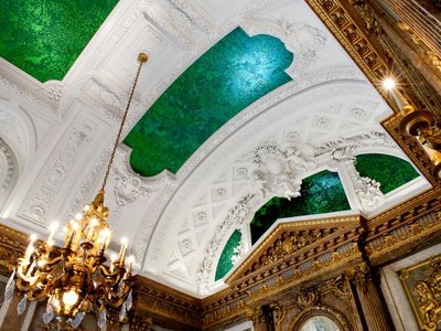 """The Royal Palace in Brussels, Belgium, is one of dozens of ceilings featured in the new book """"The Art of Looking Up."""""""