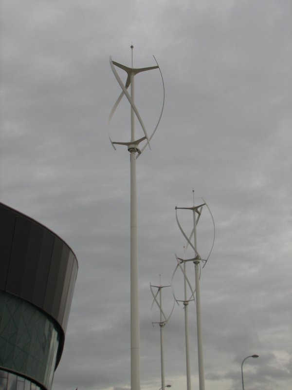 Wind turbines in Liverpool thumbnail