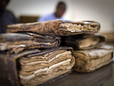 Manuscripts from when Timbuktu was a vibrant commercial and academic crossroads at the edge of the Sahara were in danger of being looted and potentially destroyed.