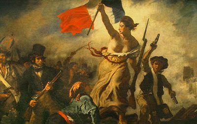 Delacroix's La Liberté to be on display at the new Louvre-Lens museum in the Pas-de-Calais