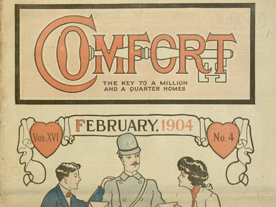 Quasi-catalogues like Comfort came with a surprising side effect: communication between women that otherwise would have been impossible.