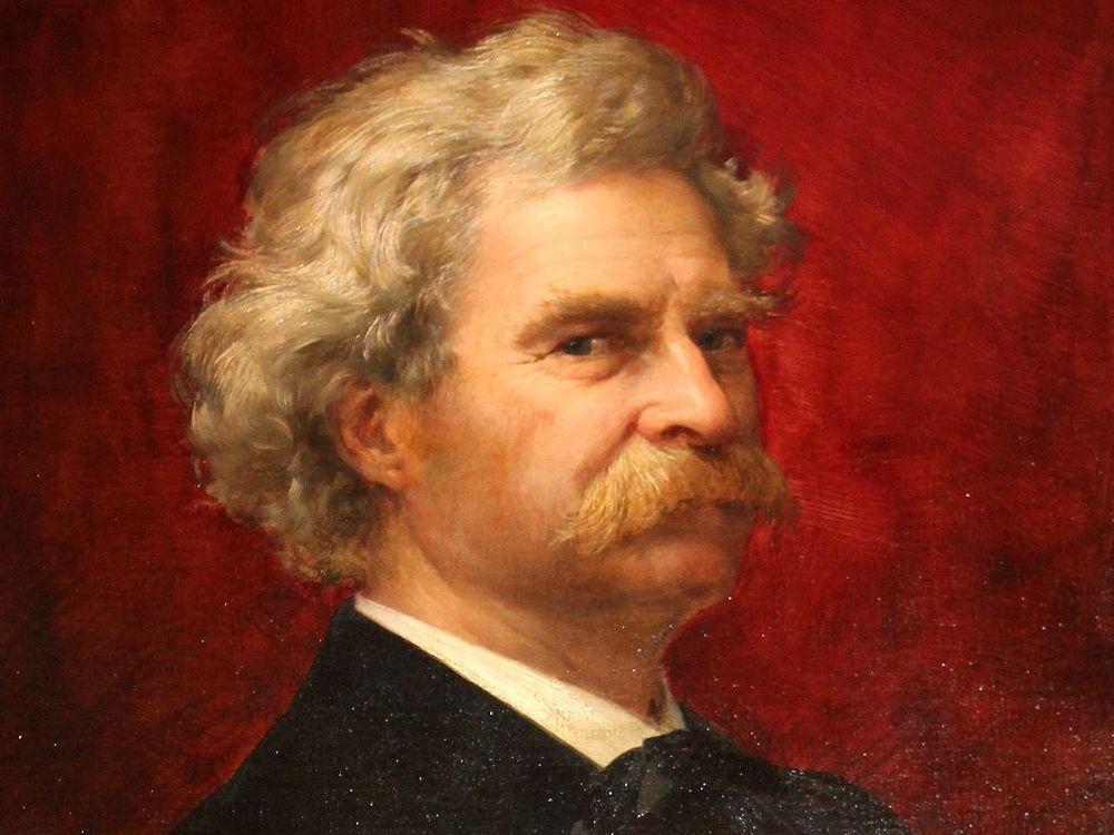 A Portrait of Mark Twain