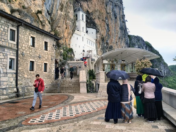 Pilgrimage to the Monastery of St. Basil of Ostrog thumbnail