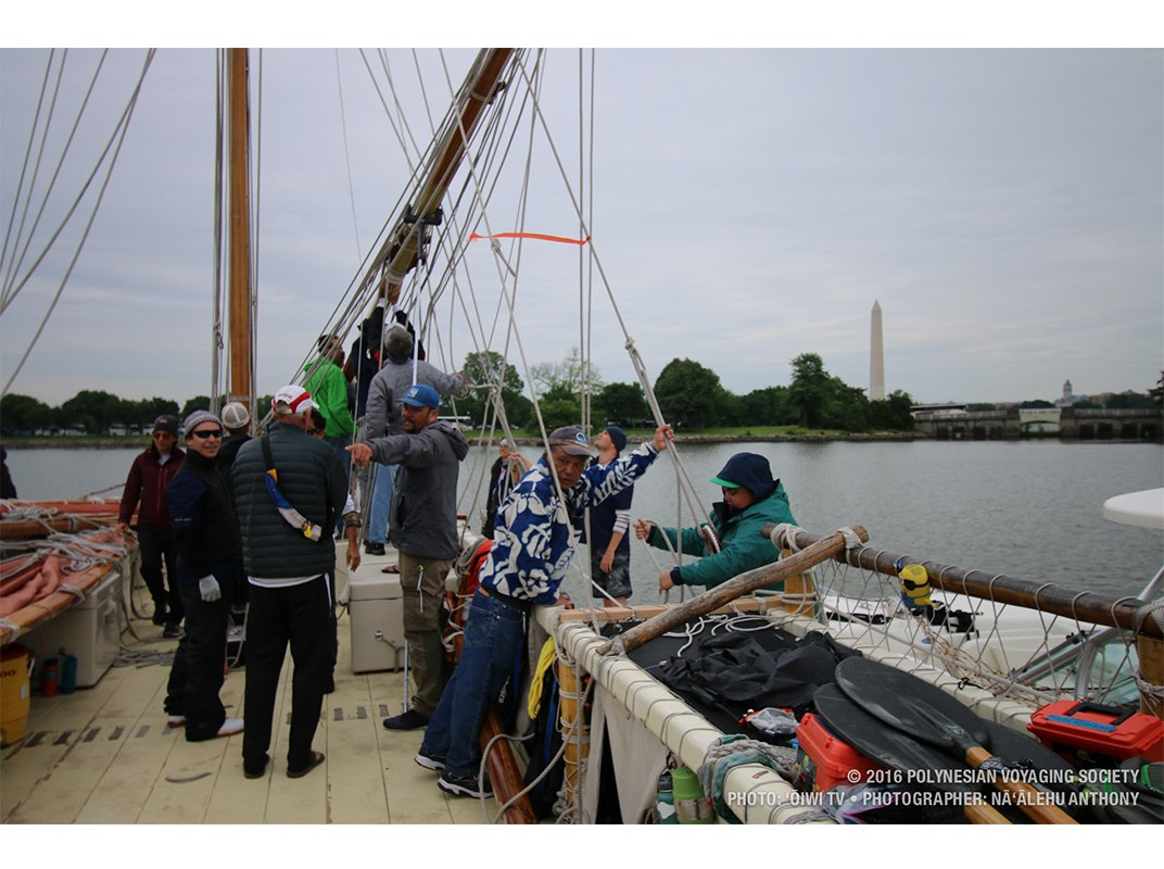 Nine Days of a Sailor-Scholar's Life Aboard the Canoe Circumnavigating the Globe