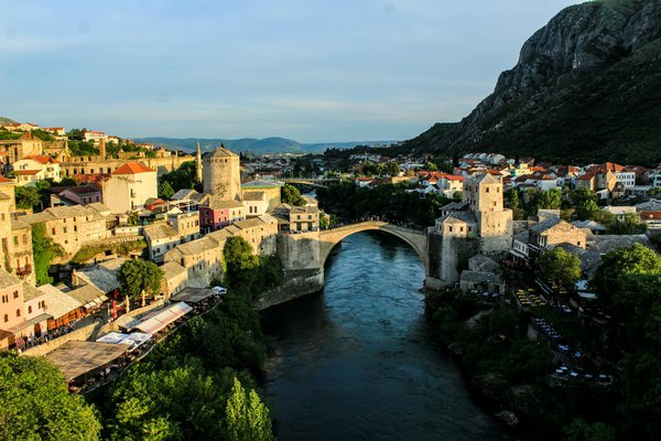 The View of Mostar from The Minaret thumbnail