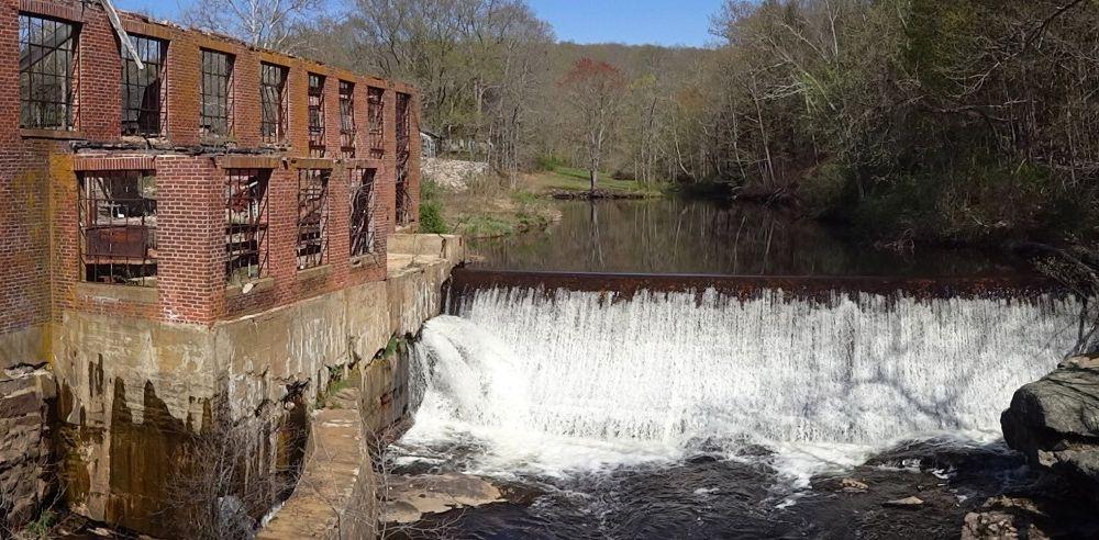 Busting apart this aging dam