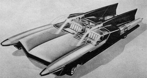 """""""Car of the future"""" sketch from Ford"""
