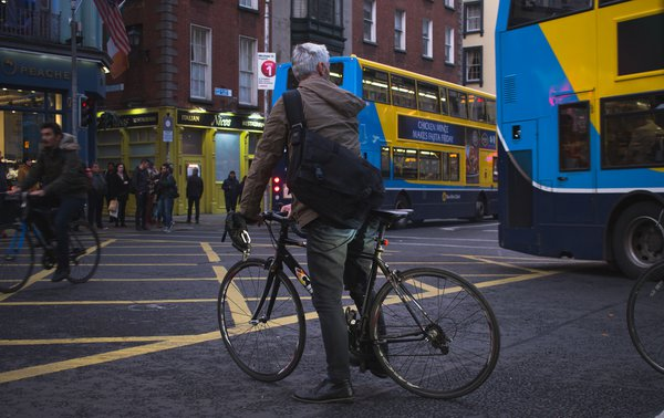 Bicyclist Commuter in Dublin thumbnail