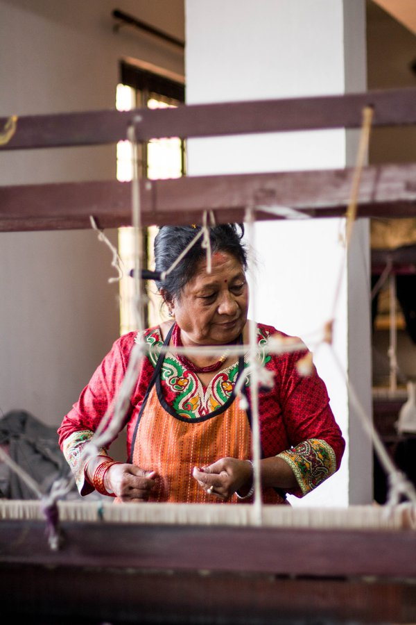 Women workers in a social business in Nepal thumbnail