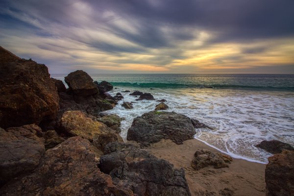 Cloudy Point Dume Sunset thumbnail
