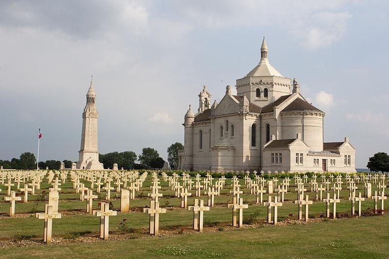 Notre Dame de Lorette military cemetery