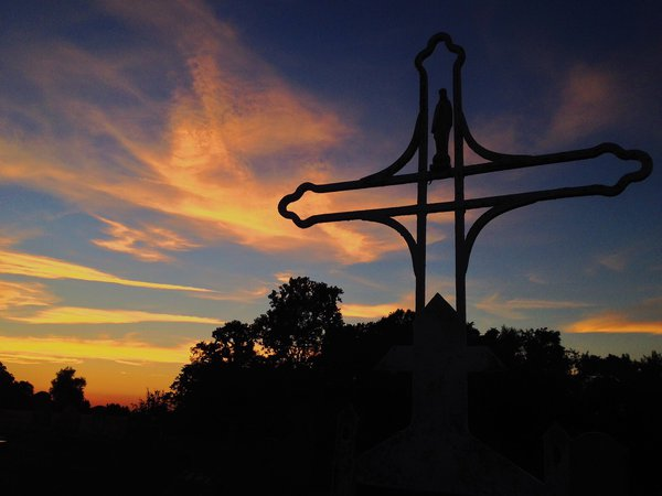 Cemetery Sunset thumbnail