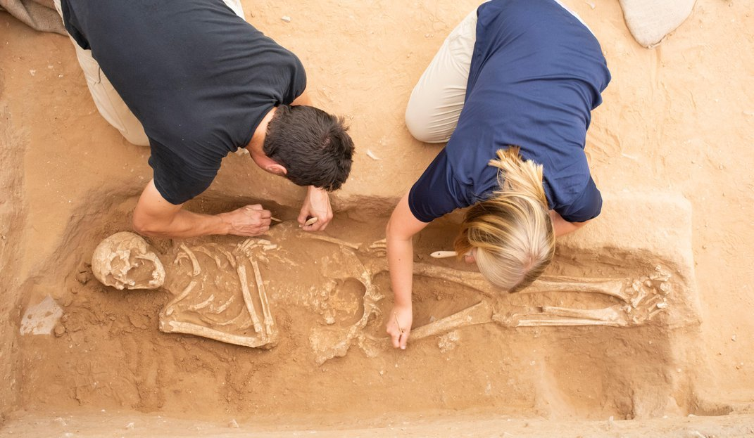 Ancient DNA Sheds New Light on the Biblical Philistines