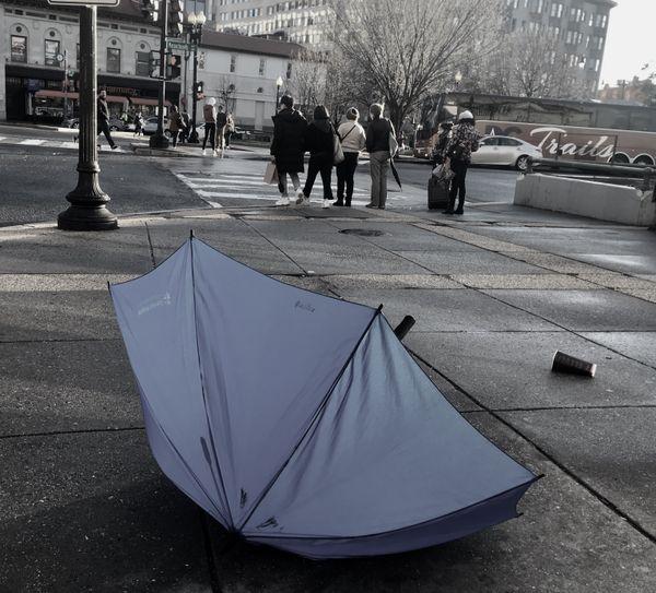 A blue umbrella thumbnail