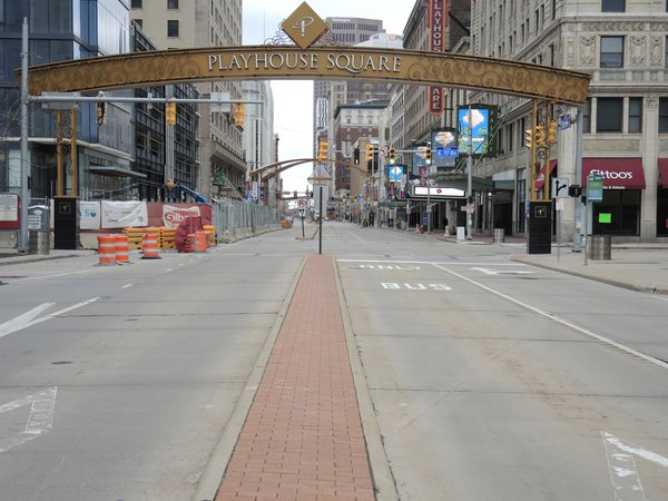 Euclid Ave. Cleveland during the pandemic 2020 thumbnail