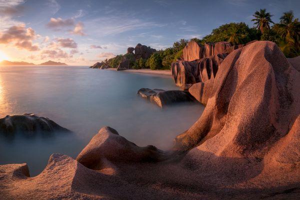 Kissing Rock - Granite rocks of La Digue Island thumbnail