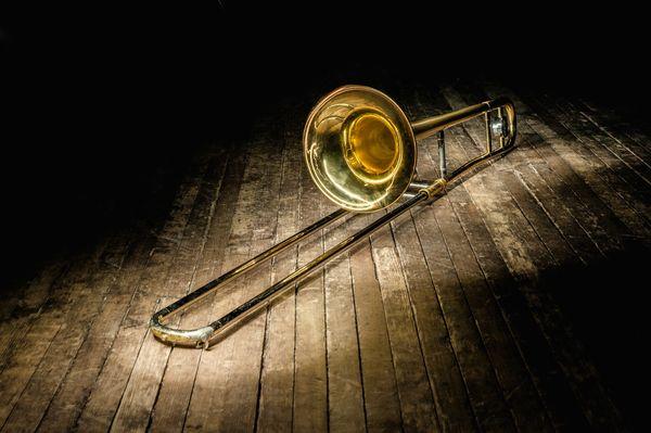 Golden trombone thumbnail