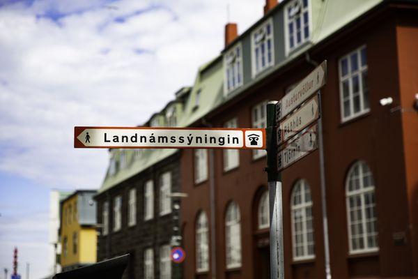 Reykjavik Street Sign thumbnail