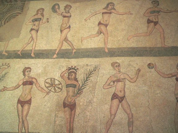 How Bathing Suits Went From Two-pieces to Long Gowns and Back