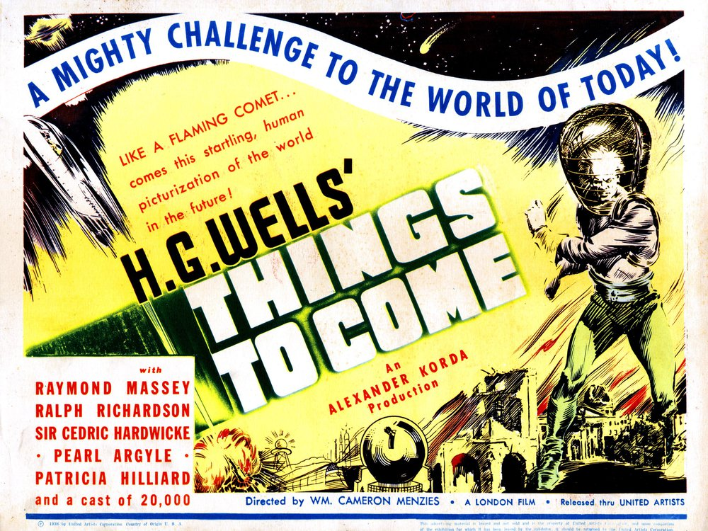 HG Wells Poster