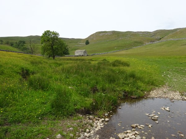 A yorkshire Dales barn in a Limestone landscape thumbnail