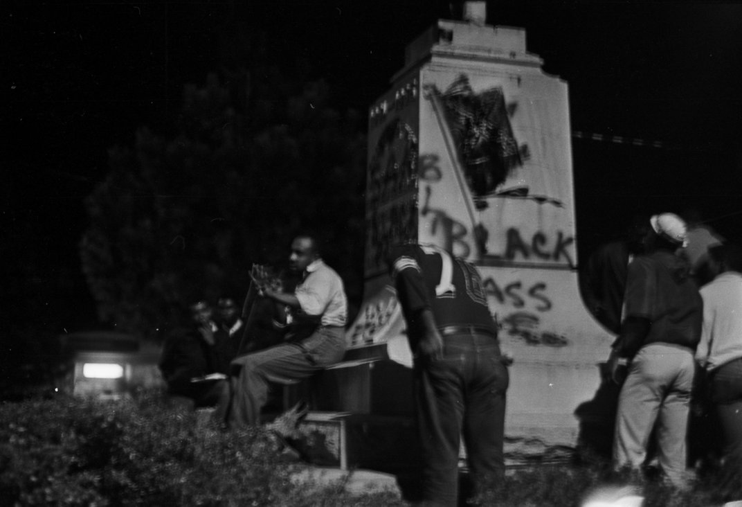 Black Protesters Have Been Rallying Against Confederate Statues for Generations