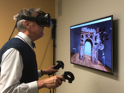The digital realm is not limited by the dimensions of the museum walls and instead brings learning experiences to visitors of all ages in new and exciting ways. (Smithsonian American Art Museum)
