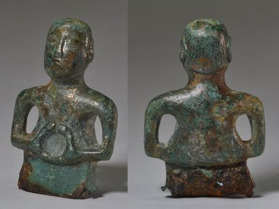 Researchers are unsure whether the figurine is of Roman or Celtic origin.