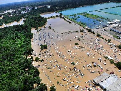 Louisiana's August 2016 flood has destroyed over 40,000 homes and killed at least 13.