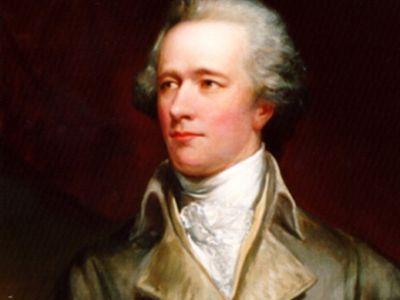 Alexander Hamilton, painted by John Trumbull, c. 1806