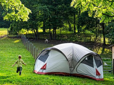 From wineries to llama farms, a growing number of private lands are opening up to RV and tent camping.