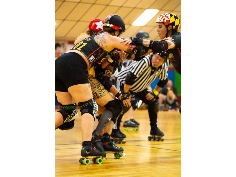 The Rough-and-Tumble Sport of Roller Derby Is All About Community