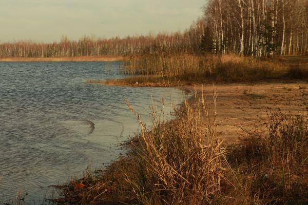 Autumn lake thumbnail