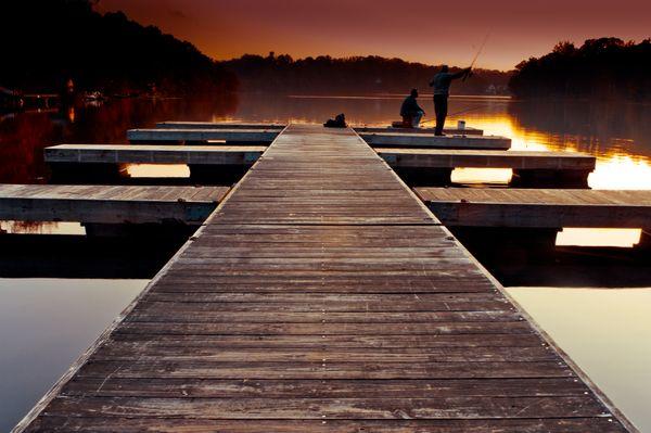 Fishing until sunset thumbnail