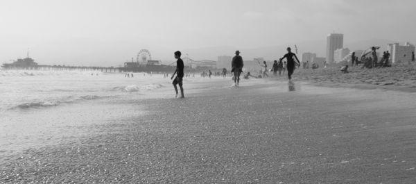 Children on the Beach  thumbnail