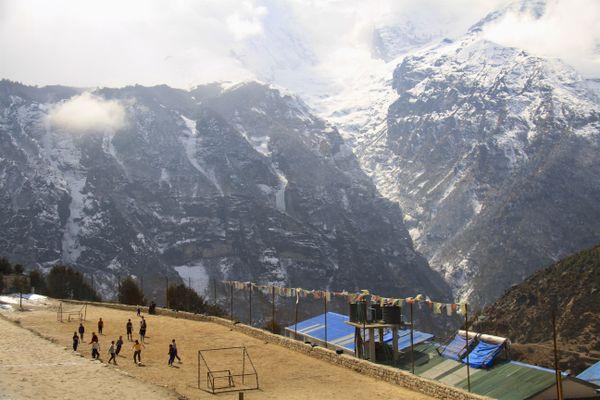 Football in the Himalayas thumbnail