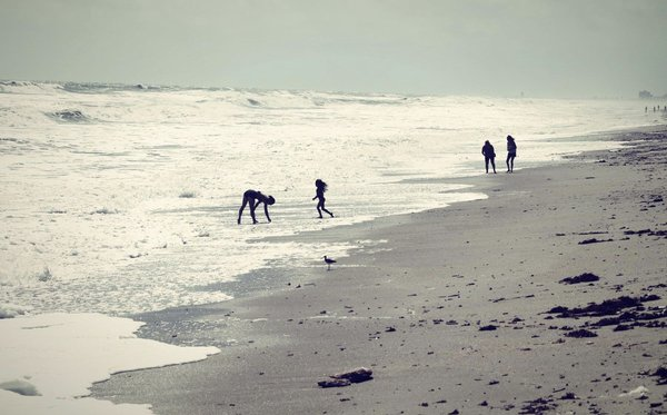 Family time in the surf thumbnail