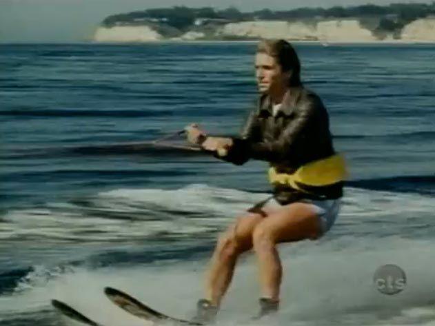 The Fonz Jumping the Shark