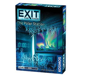 Preview thumbnail for 'Exit: The Polar Station | Escape Room Game | Exit: The Game - A Kosmos Game | Family-Friendly, Card-Based at-Home Escape Room Experience for 1 to 4 Players, Ages 12+