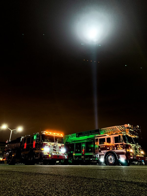 9/11 Firetrucks at Pentagon thumbnail