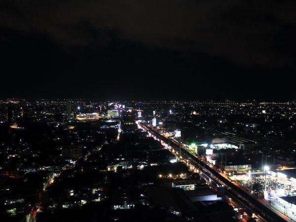 Manila city skyline at night thumbnail