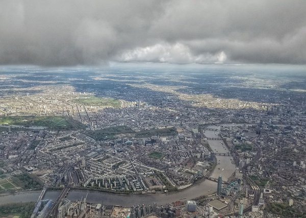 London from the air thumbnail