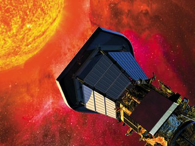 Instruments developed at the Harvard- Smithsonian Center for Astrophysics, such as this Solar Probe, will go to the Sun in 2018.
