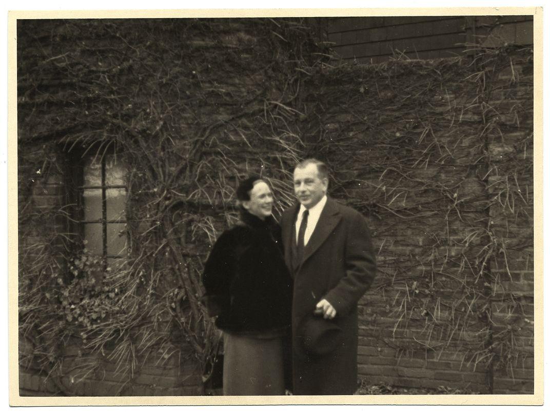 Photograph of Aline and Eero Saarinen