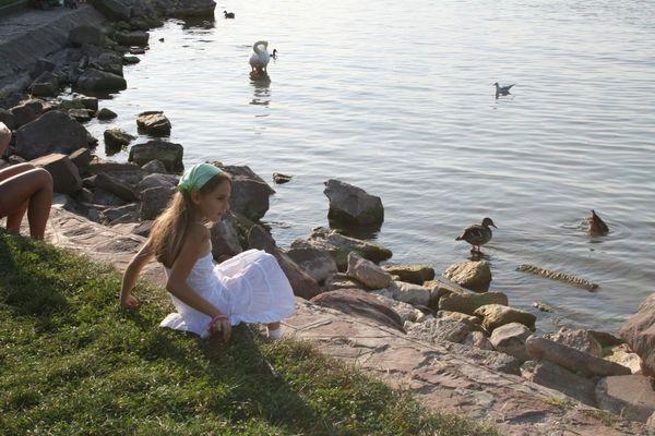 Girl at the Port of Siofok, Lake Balaton thumbnail