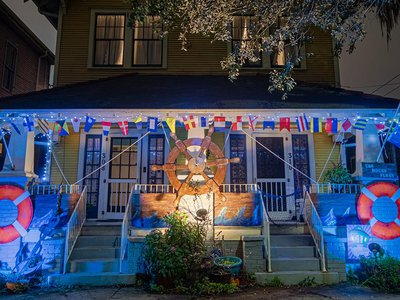 """The Facebook group """"Krewe of House Floats"""" boasts 12,500 members and counting."""