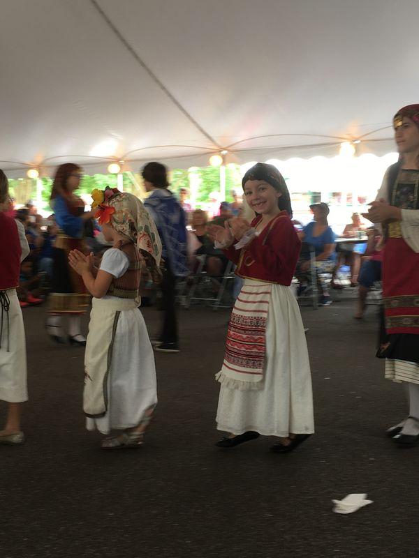 Dancing at Greek Festival thumbnail