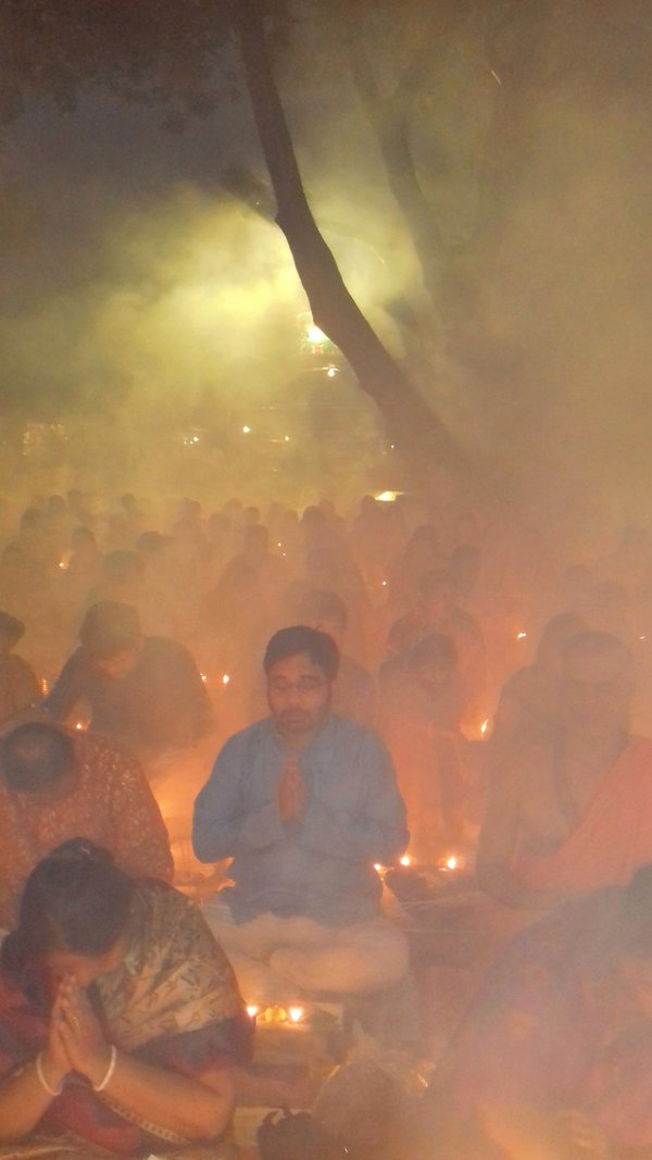 Hindu devotees in a Fasting festival thumbnail