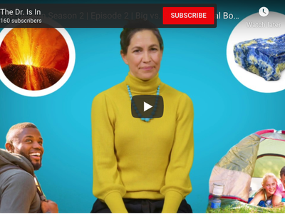 """Smithsonian Geologist Liz Cottrell answers your questions in the second season of the National Museum of Natural History's YouTube series, """"The Dr. Is In."""""""