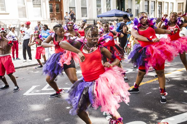 Dancers in New York City's children's West Indian Day Parade thumbnail